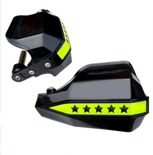 Five-star motorcycle hand guard new design