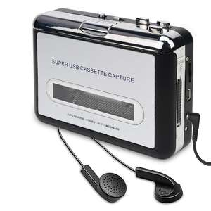 Factory Cassette Player With the WeRecord USB Convert Cassette Tapes to MP3 CD Format Flexible Battery