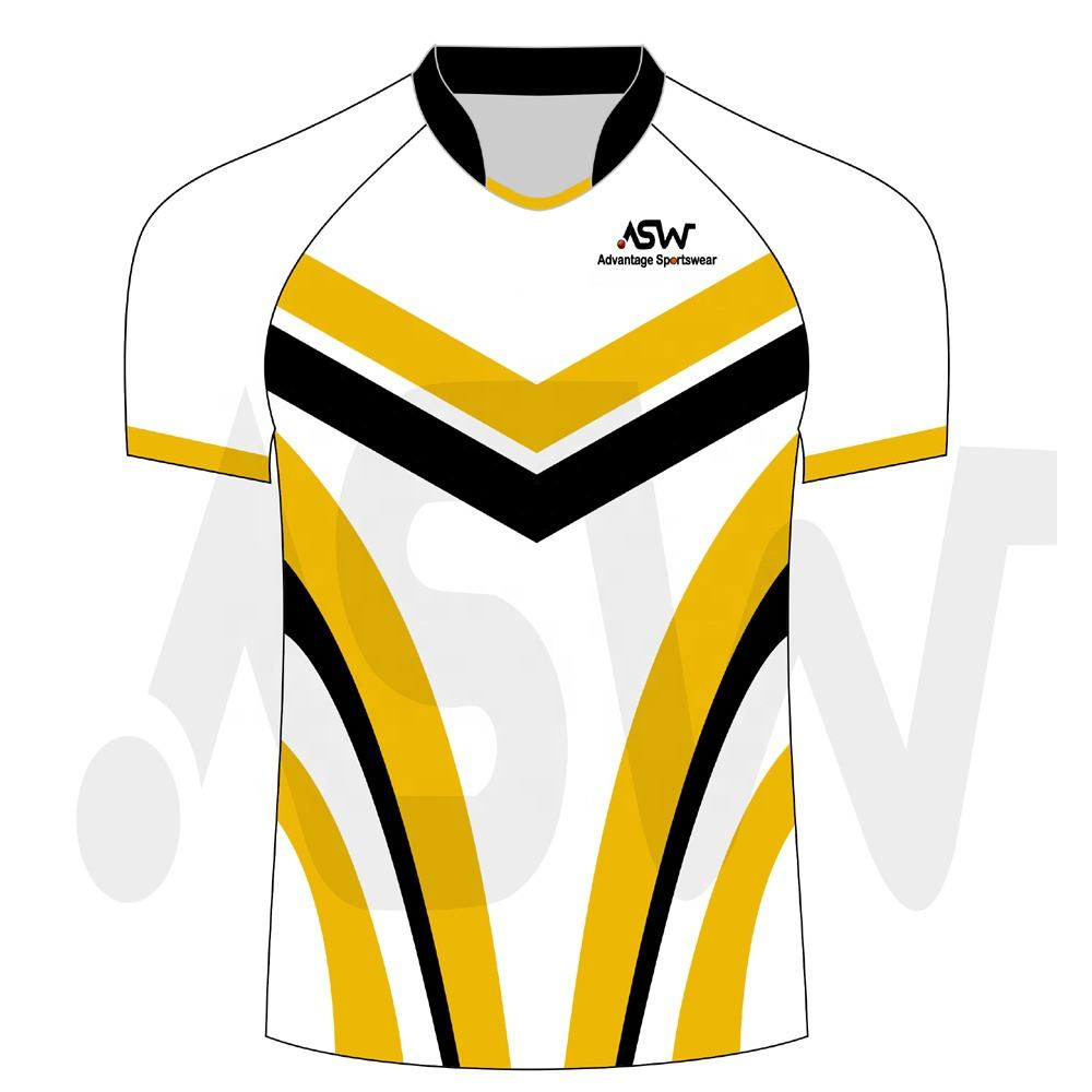 Custom top quality new design team rugby jerseys