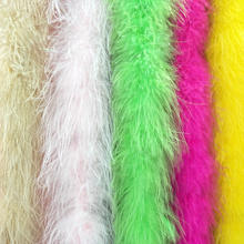 Super high quality artificial safe marabou feather boa 15ply colorful marabou feather boa