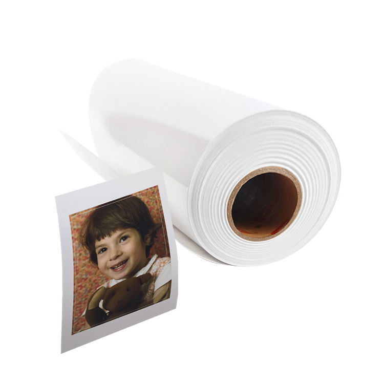 Wholesale 260gsm Lucky RC Satin Digital Inkjet Printing Roll Photo Paper
