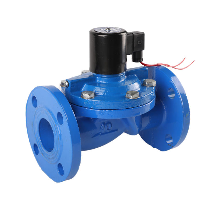 20kg 240 volt 2.5mm orifice 12v high frequency winch shutdown carbon steel flange connect Solenoid Valve