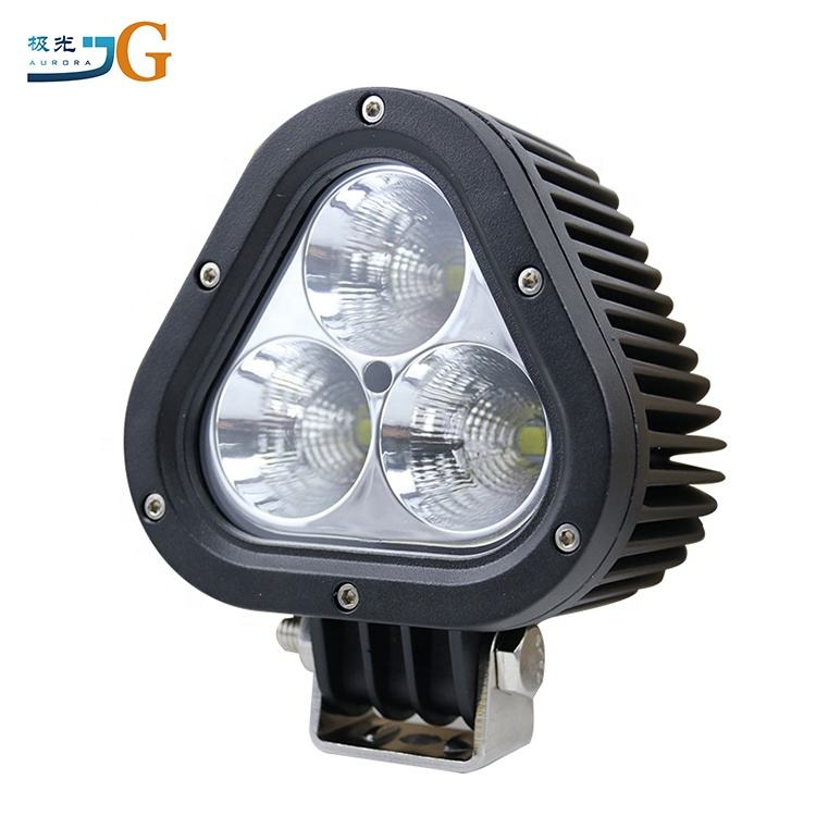High Spot Triangular shape 5Inch 60W 12V-24V LED Driving Work Light Car Motorcycle 4X4 Off road Offroad for Cars/Trucks/Vehicles