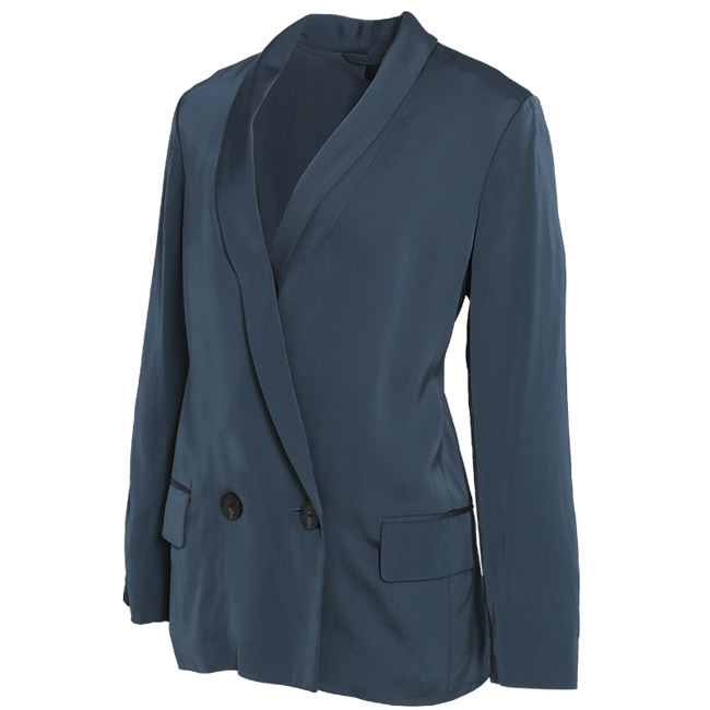 Huiquan finest quality made in China single breasted casual women suit jacket women casual blazer