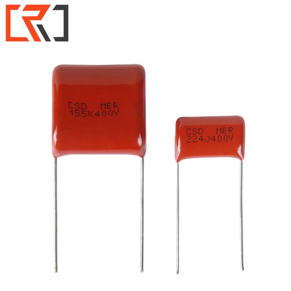 0.33uF 5/% Poliéster 100 V 5 mm pitch faratronic Condensador de película