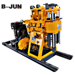 Low price water well hydraulic drilling rig borehole drilling machine for sale