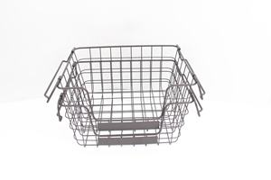 552-9 household Metal wire kitchen Storage Basket organizer with handle