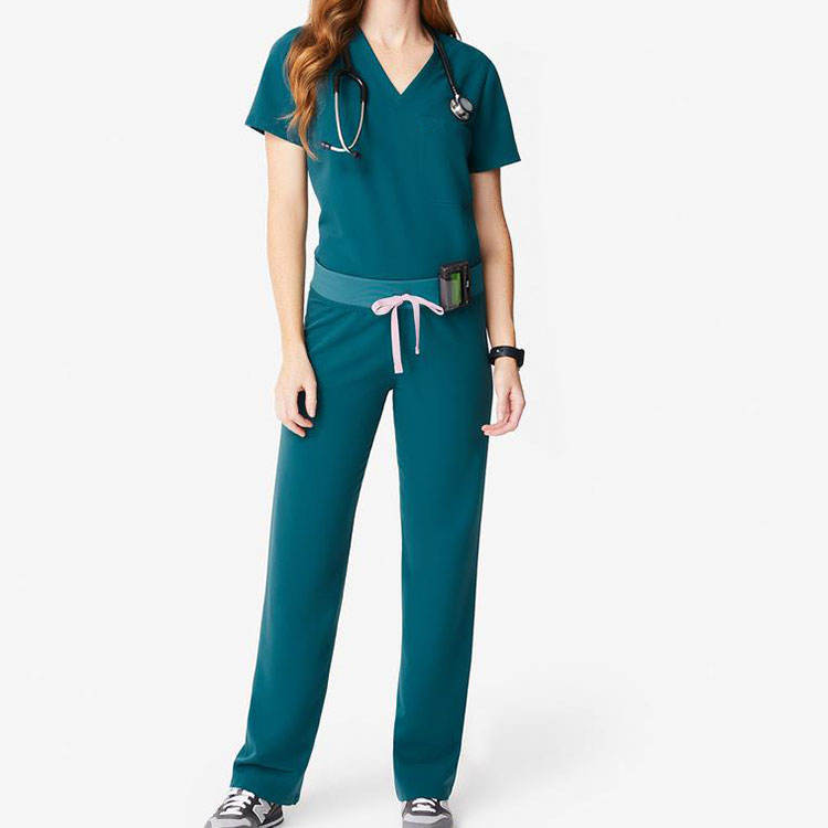 Uniform Medical Nurse Medical Scrubs Set For Hospital Private Label Scrubs Uniforms