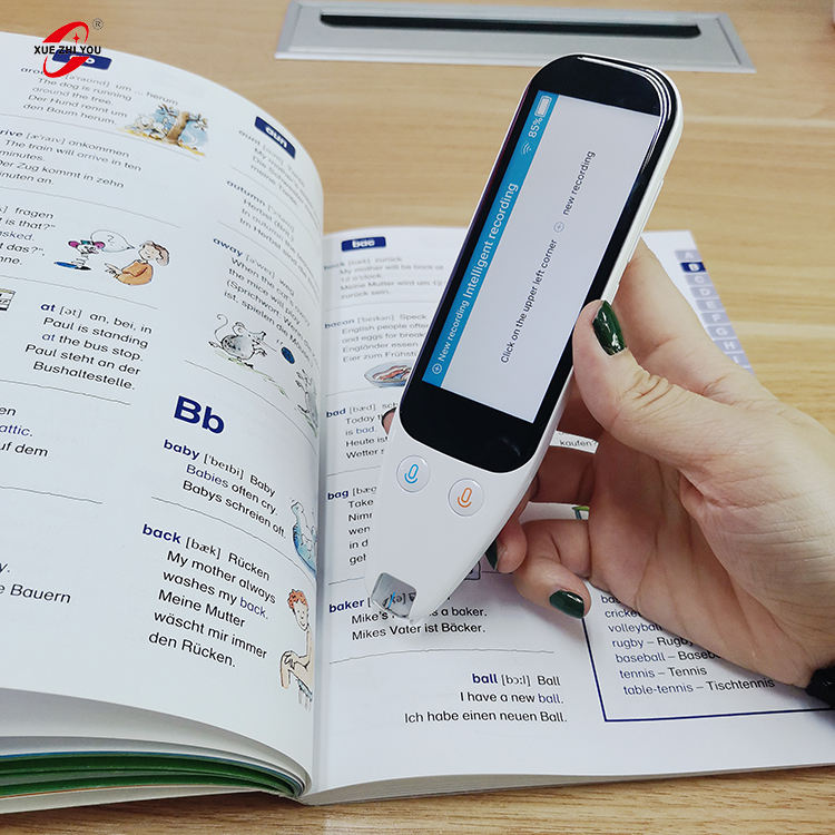 Instantly scan and translate any book ocr wifi scan reader pen with multiple languages translation