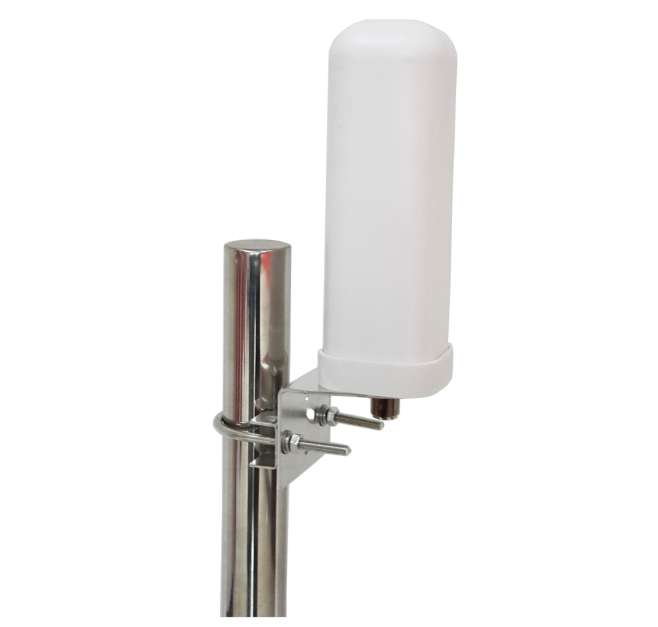 High gain 9dBi waterproof Indoor/Outdoor Wide band Omni Antenna , coverage 698MHz - 4000MHz