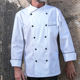 CHECKEDOUT wholesale men snap button chef cooking wear uniform