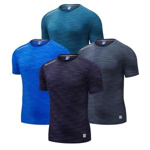 breathable blank wholesale custom men seamless performance quick dry gym fit fitness tshirt t-shirt tee t shirt