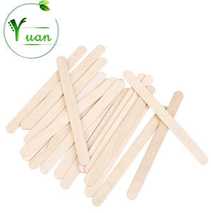 Biodegradable wooden ice cream stick