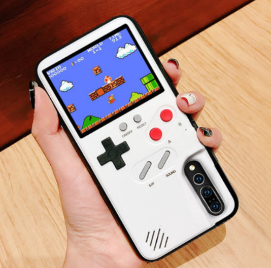 Oem Mobiele Handheld Console Game Speler Gameboy Retro Handheld Video Game Console Met Telefoon Case Voor Iphone X 8 11