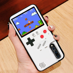 OEM mobile handheld console game player gameboy retro handheld video game console with phone case for Iphone X 8 11