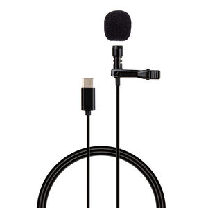 BOYA BY-M1 3.5mm Audio Video Record Lavalier Lapel Microphone Clip On Mic for ipad Android Mac DSLR Podcast Camcorder Recorder