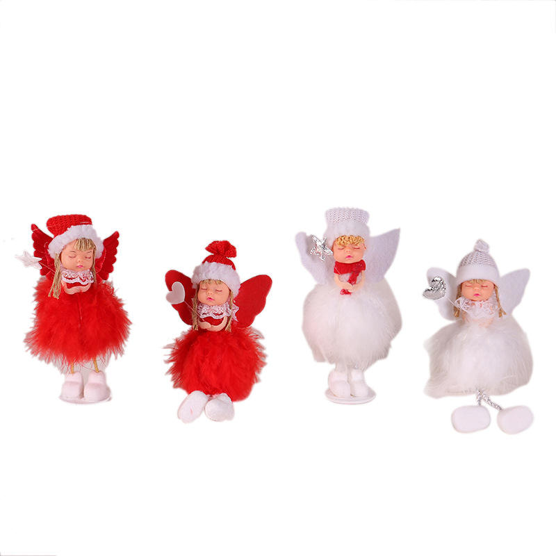 Amazon Hot Koop Kerst Ornamenten Decoraties Boom Opknoping Angel Kerstboom Decoratie Yiwu Kerst Decoratie