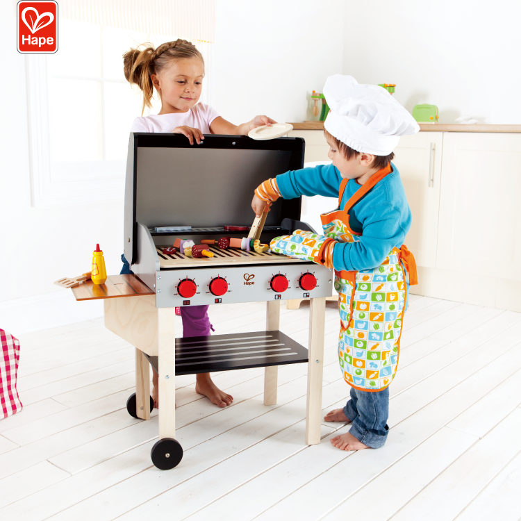 Pretend Kitchen Cooking Game Children Wooden Kitchen food Toys Play Set For Baby