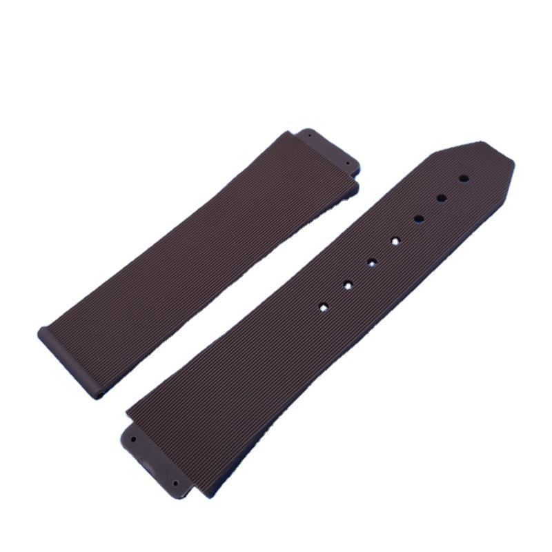 high quality butterfly buckle 26mm rubber watch band watch strap
