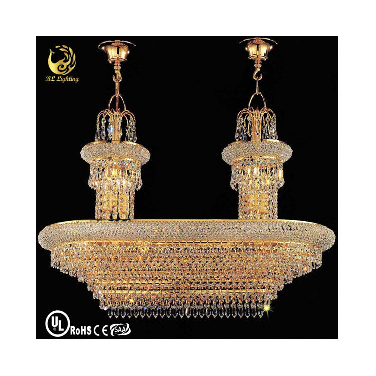 Unique golden brilliant lighting boat chandelier lamp asfour crystal dubai classical style