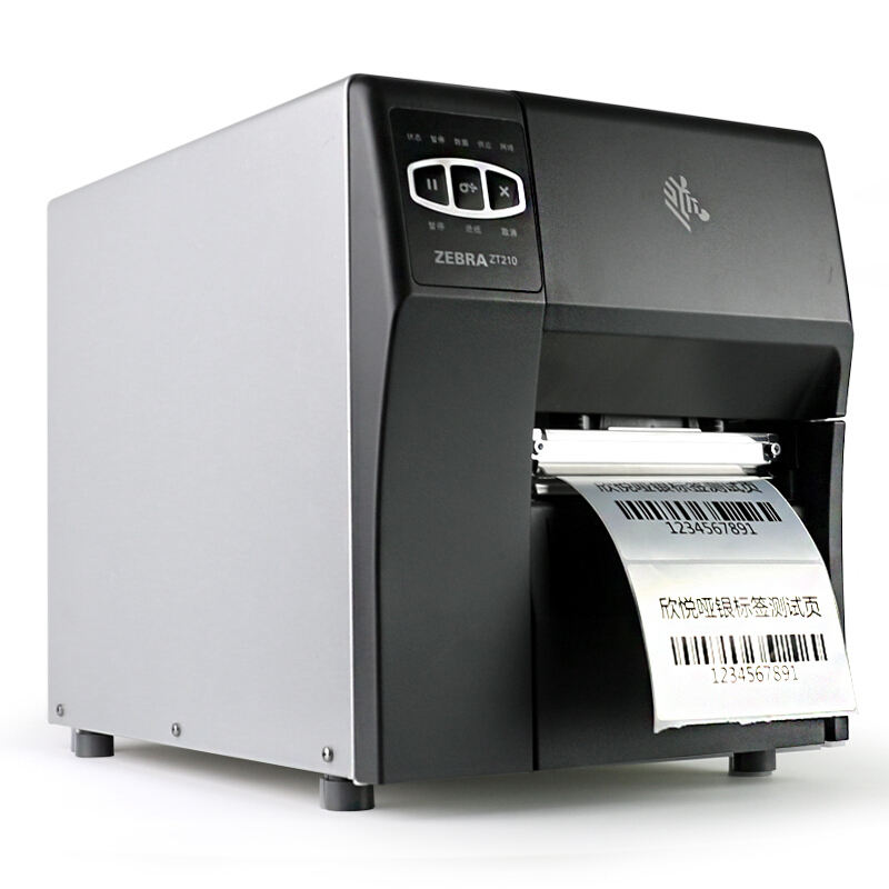 Zebra ZT210 ZT230 203 Dpi/300 Dpi Direct Thermische Transfer Industriële Barcode Label Printer