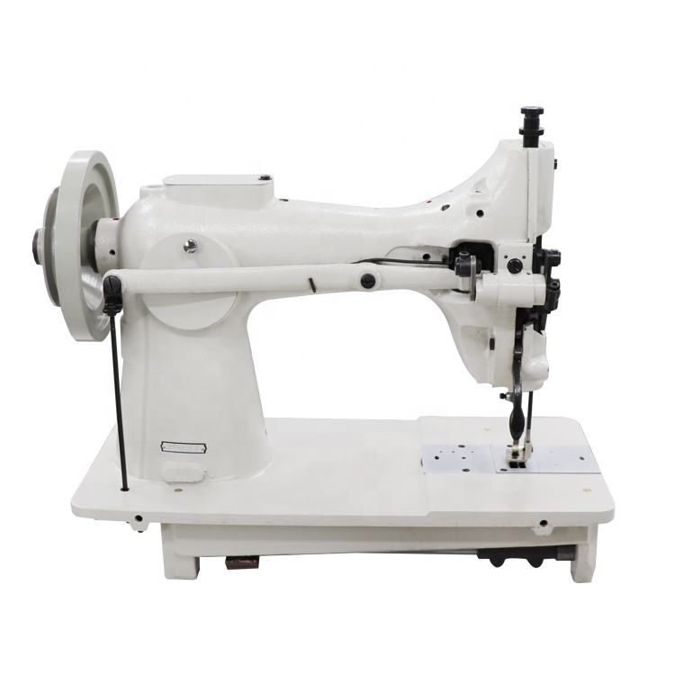 Extremely thick material with upper and lower complex feeding large canvas sewing machine