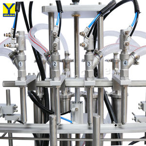 YT4T-4G Fully Automatic Pneumatic 500ml Liquid Filler Soda Water Bottling Filling Machine for PET Bottle