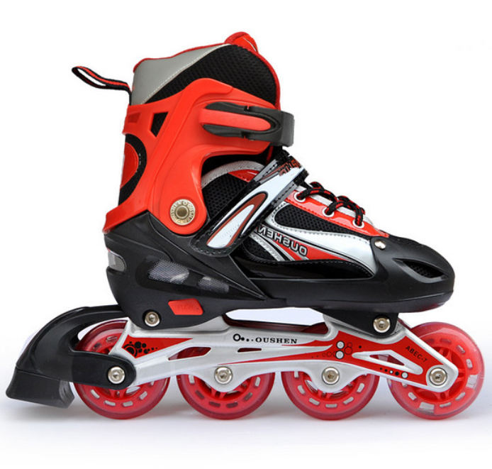 Low Price High Quality Classical Indoor Flooring Inline Roller Skate Shoes