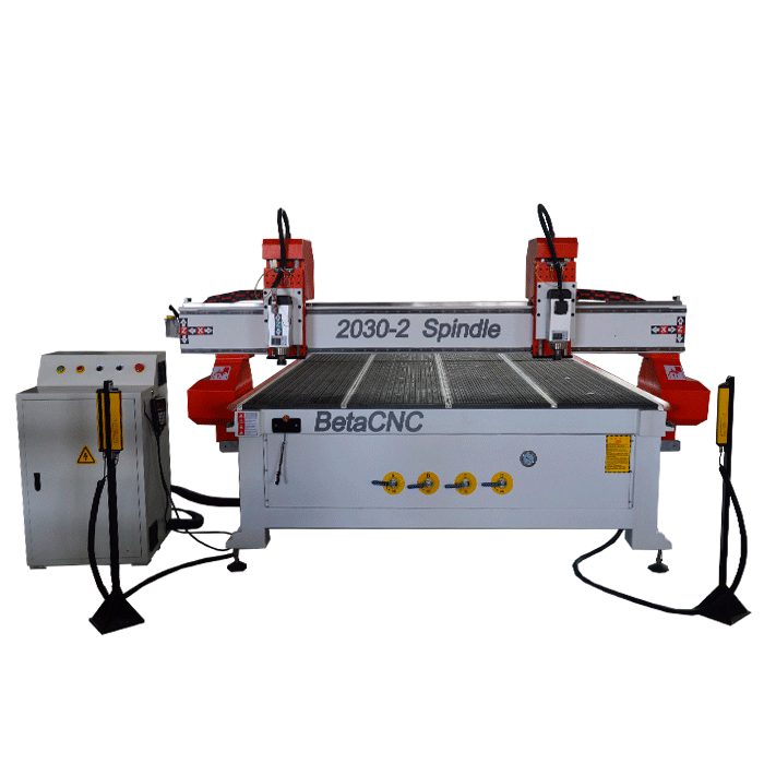 Multi Spindle Woodworking CNC Router wood carving machine/Double heads cnc router for coffin making