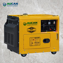 8kva Good quality! Air cooled High efficiency super silent type portable diesel generators with CE/ISO9001 approved