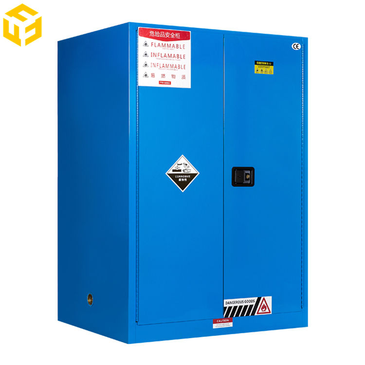 Chemical Hazardous Goods Stored Safety Cabinet Used in Laboratory/Hospital