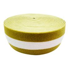 Manufacturer Custom Woven Soft Nylon Plain Three Striped Elastic Band Jacquard Elastic Webbing For Underwear