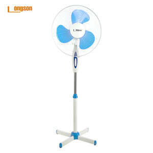 3 Plastic Blade 3  Speed Manual Control Oscillation  Ventilador Standing Pedestal Fan/