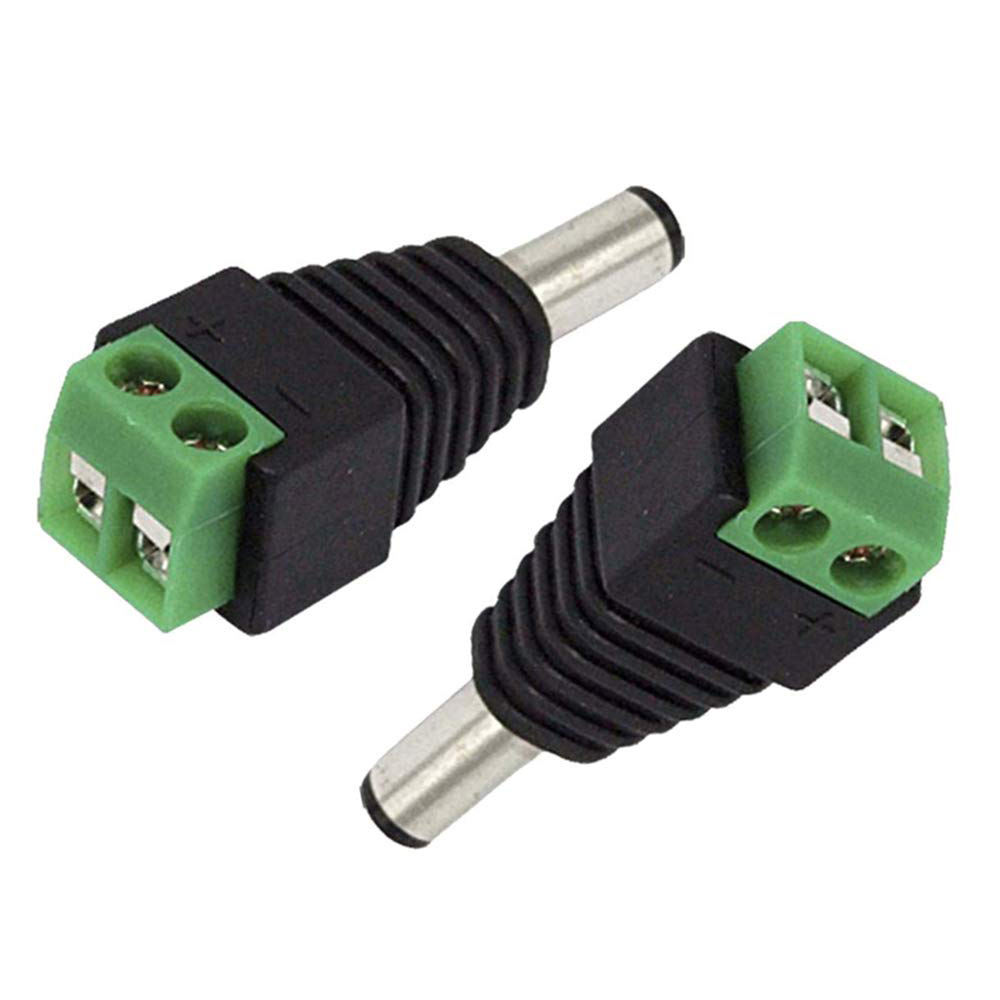 BNC connector female DC connector Power Jack & Plug Screw-on Wire Connector for cctv camera cctv for CCTV Cameras System