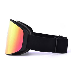 Wholesale frameless magnetic UV400 ski glasses snow goggles eyewear