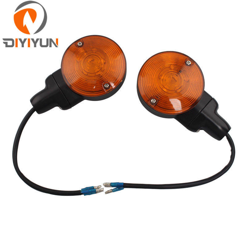 Motorcycles Ride LED Head Lamp 10V 8W Front Flasher Blinker Light Indicator Turn Signal Light For Harley Softail Electra Glide