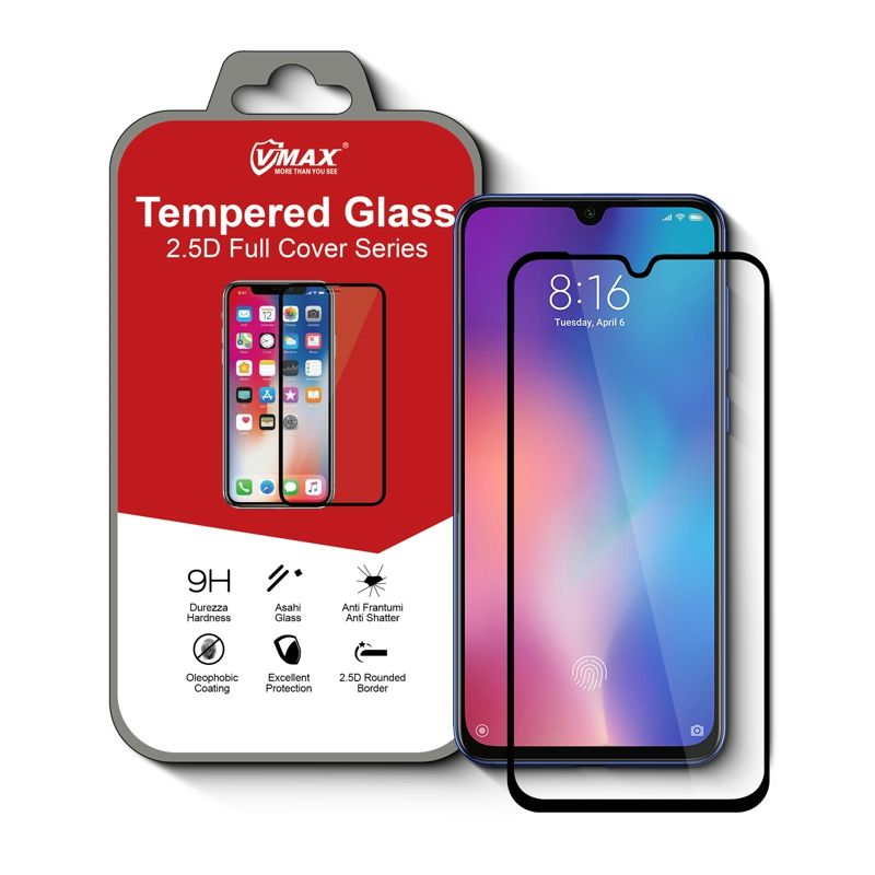 Hot Sale Privacy Tempered Glass Screen Protector For Xiaomi redmi 5/5 plus/ note 5 pro mi8 mi8 se mi9 mi8 pro with paper box