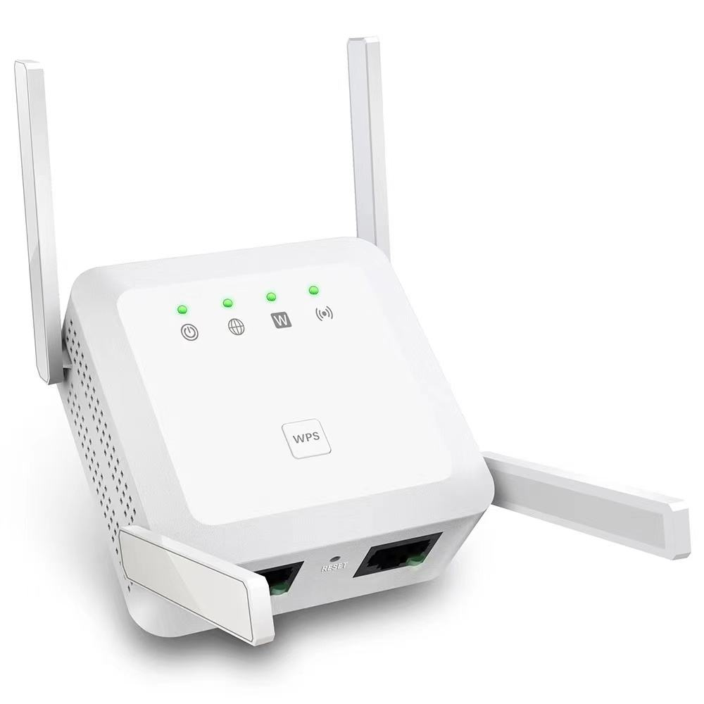 Dual Band 1200Mbps 2.4G & 5G Wireless Wifi Repeater Range Extender WiFi Signal Amplifier For Home