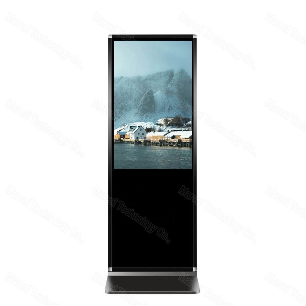 Full hd media player pubblicità display a cristalli liquidi dello schermo di tocco tutto in un pc 43 ''Android versione con tocco di IR