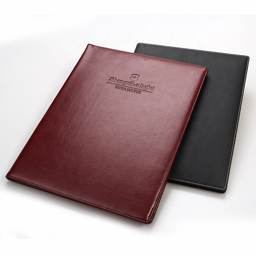 Restaurant Leather Menu Holder Covers