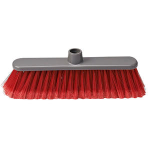 Economic PP Chinese Plastic Natural Sweep Easy Broom Head