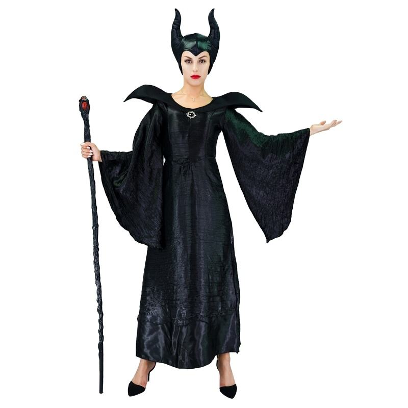 Wholesale Women's Movie Figure Cos Dress Halloween Party Cosplay Witch costume For Women
