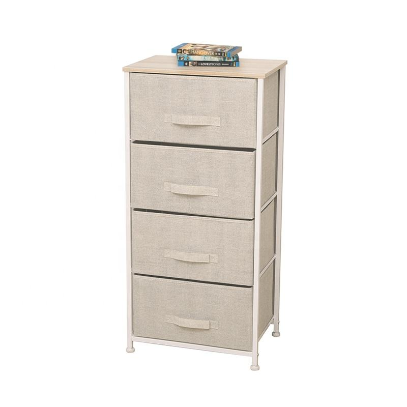 Easy to Assemble Multi-Drawer Storage Chest Fabric Drawer Storage Cabinets