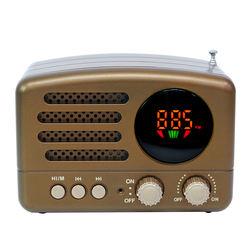 MD-162BT  good quality  portable style  FM AM SW 3 band mini radio  wireless speaker  USB TF BT MP3 player