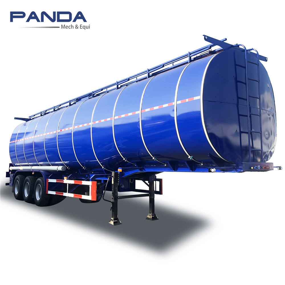 Heated Aluminum Bitument Road Transport Trailer Pitch Tanker Truck Tankers for Sale