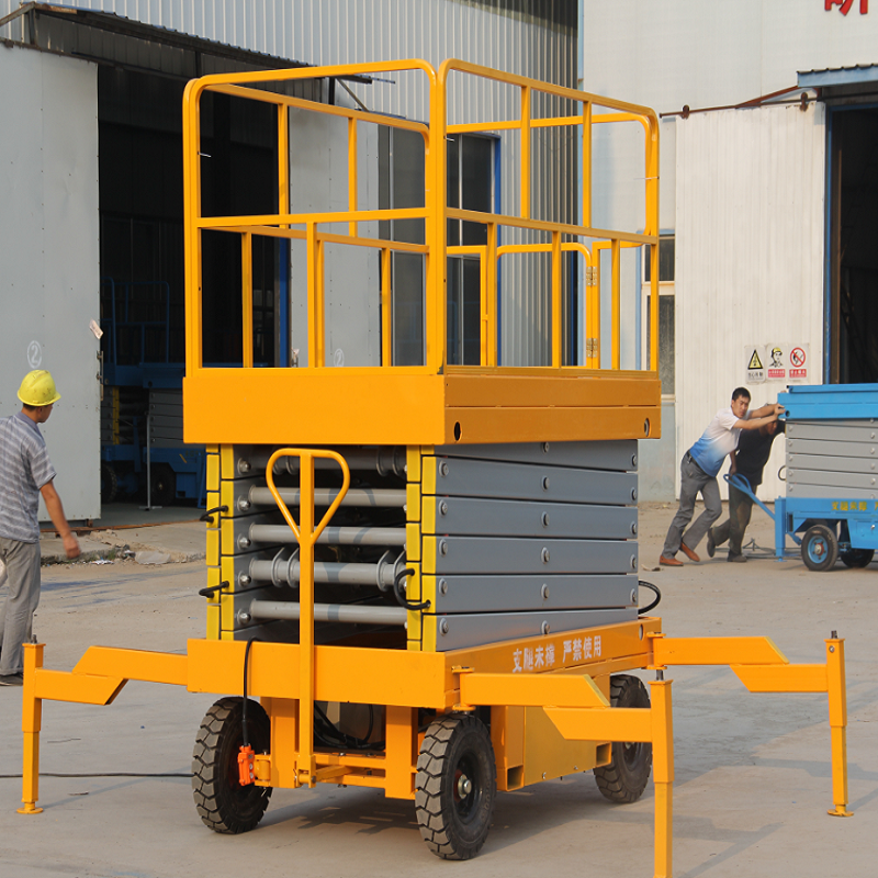 CE certification Mobile Scissor Lift Indoor Outdoor Scissor Lift used