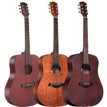 41-inch folk guitar  6 brass strings electric  acoustic guitar