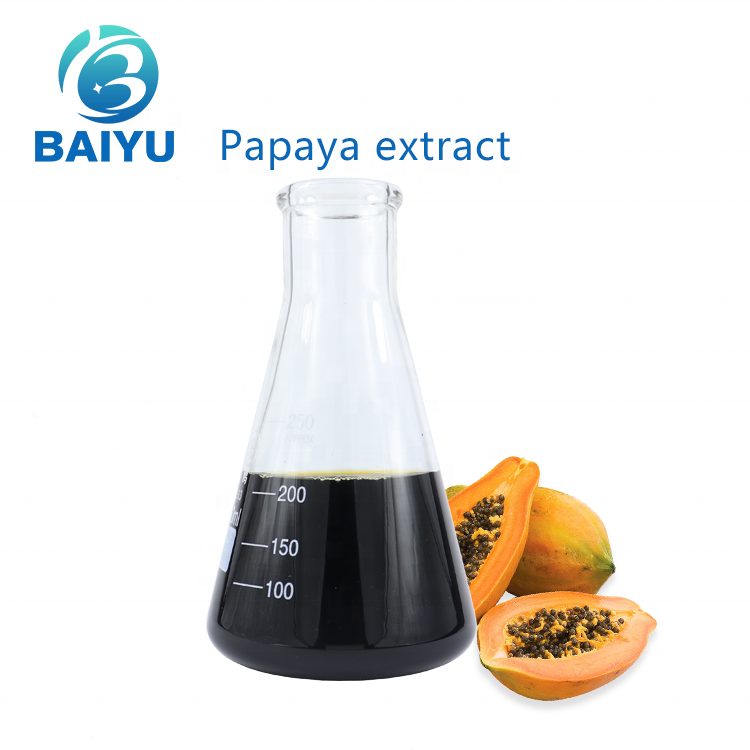 Papaya extract Cosmetic skincare soap cream lotion ingredients