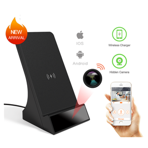 Smart New Infrared Night Vision Hidden 1080P Mobile Phone Wireless Charger WiFi Camera