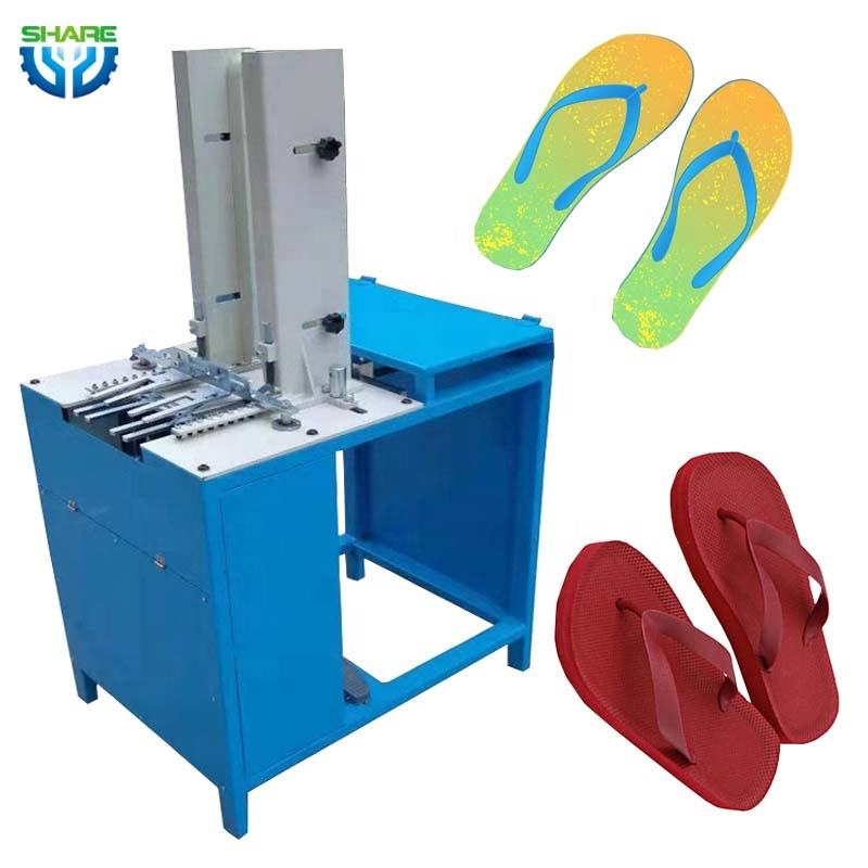 EVA pvc slipper strap making machine automatic strap fixing machine